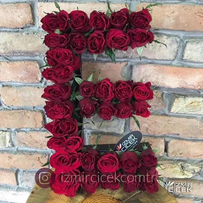 Harf Kutu Çiçek