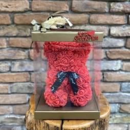 Teddy Rose Bear Kırmızı