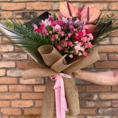 İthal Çiçek Buketi