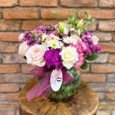 Fanusta Kır Çiçekleri