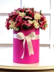Silindir Kutuda Rengarenk Kır Çiçekleri