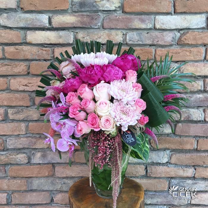 İthal Çiçek Aranjmanı