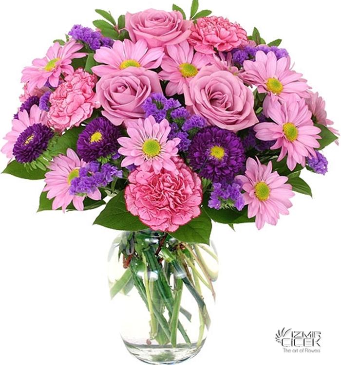 izmire çiçek siparişi