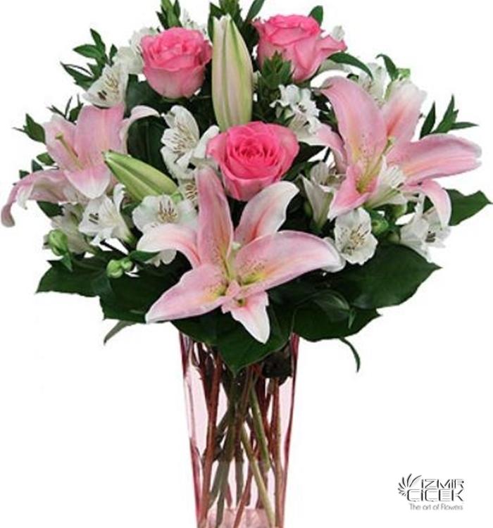 yeni iş ve terfi çiçekleri